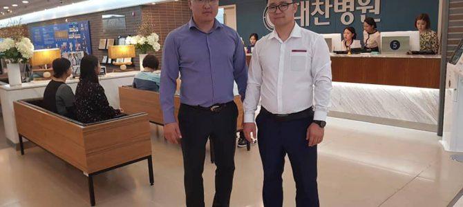 Гэмтлийн мэс заслын эмч нар Солонгос улсад мэргэжил дээшлүүлэхээр боллоо